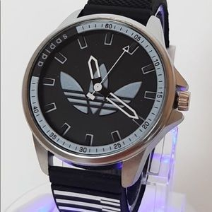 Men's stainless steel Adidas watch